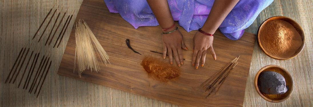 Naturveda Incense Rolling